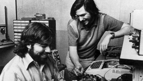 Steve Wozniak & Steve Jobs
