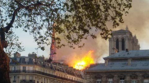 Branden i Notre-Dame