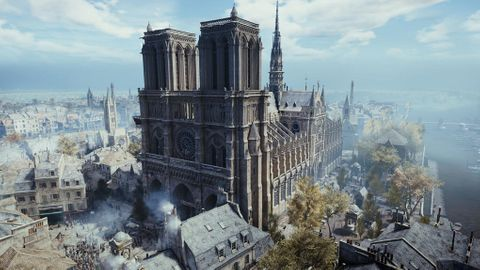 Notre-Dame i spelet Assassin's Creed Unity