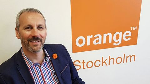 Simon Ranyard, nordisk chef för Orange Business Services