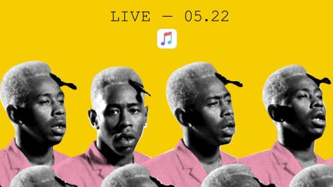 Apples konsert med Tyler, The Creator