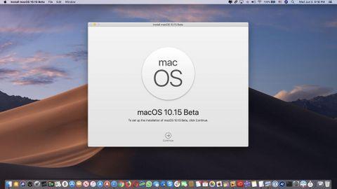 Mac OS 10.15 beta