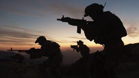 Soldat i Modern Warfare