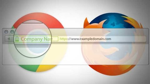 Chrome och Firefox