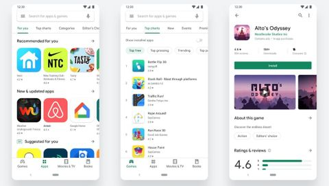 Nya Google Play Store