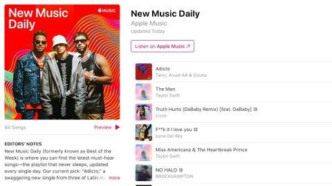 Apple Music spellista
