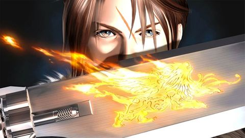 FF8 squall and gunblade