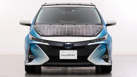 Toyota Prius solbils prototyp