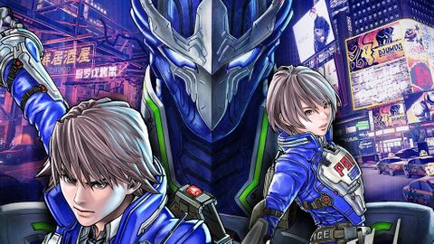 Astral chain protagonists and legion