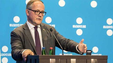Benoît Coeuré som sitter i styrelsen i den Europiska centralbanken, ECB