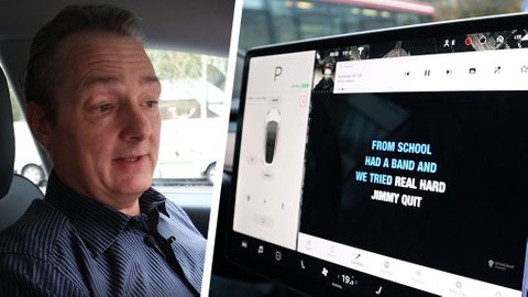 Tesla Model 3 interiör