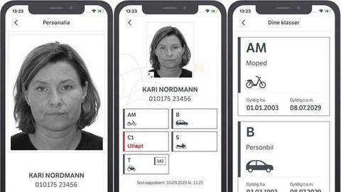digitalt körkort