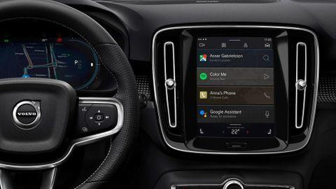 Android Automotive i Volvo XC40