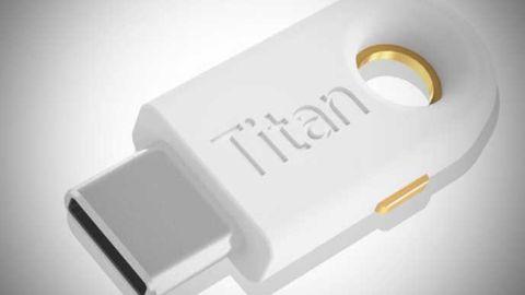 USB-C Titan Security Key