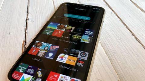 Iphone med mörkt läge