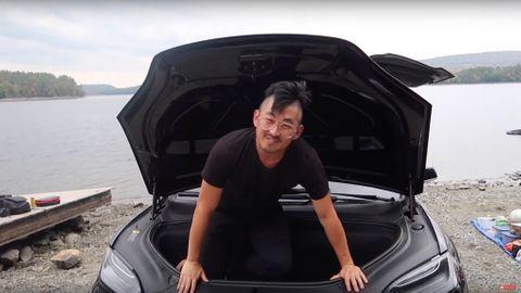 Bo i en Tesla