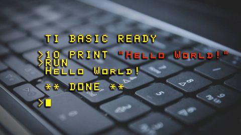 Programmering historia