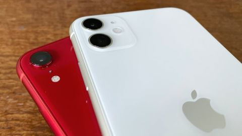 Jämförelse Iphone 11 mot Iphone XR