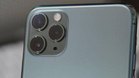 Kameran på Iphone 11 Pro