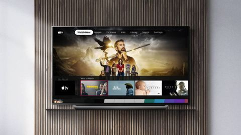LG-tv med Apple TV-app