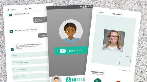 Psykolog online app