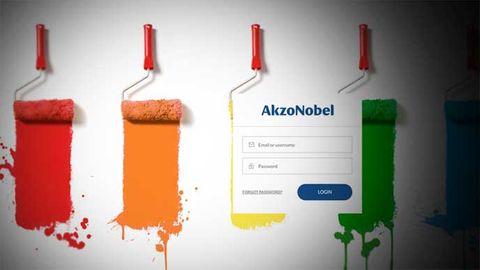 Färgföretaget Akzo Nobel gillar Orange