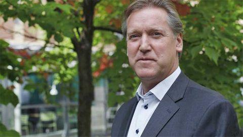 Anders Sandin, chef över verksamhetsområdet Geodata på Lantmäteriet