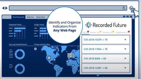 Recorded Future: Smart plugin i webbläsaren prioriterar sårbarheter