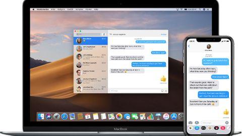 Meddelanden på Mac OS