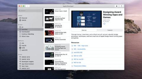 WWDC 2020 app