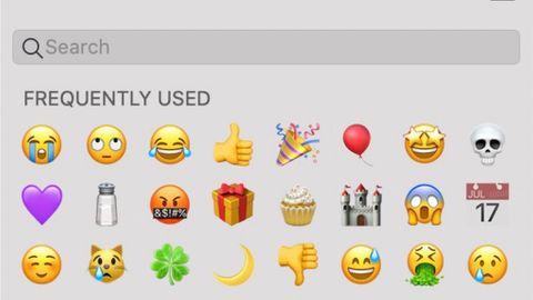 Emoji-sök