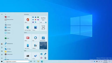 Startmenyn i windows 10