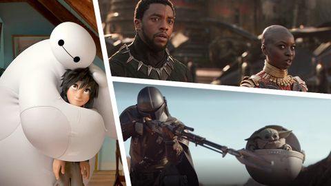 Disney Plus filmer och serier