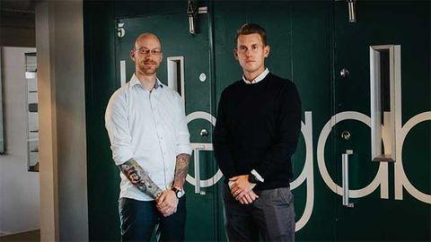 Bergabs it-chef Jörgen Nilsson och Karl Nilja, operativ chef Nordlo Göteborg City.