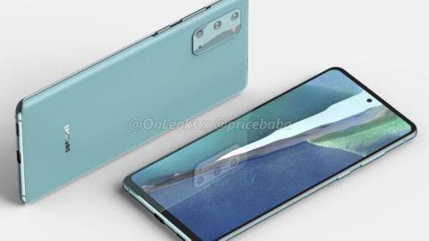 Samsung Galaxy 20 fan edition foto onleaks