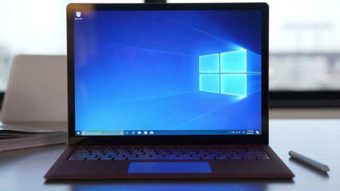 Laptop med Windows 10