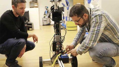 Öppen källkods-robot från Örebro dödar Covid-19