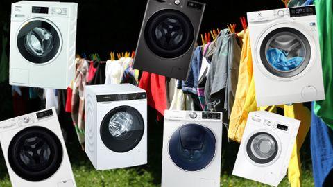 Uppkopplade tvättmaskiner