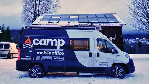 Acamp: Nu kan man ta jobbet på distans – någon annanstans
