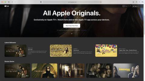 Apple TV Plus på webben