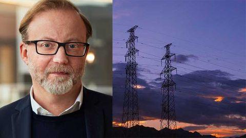 Lars Jansson, cio på Svenska Kraftnät.