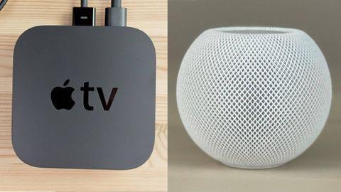 Apple TV och Homepod Mini