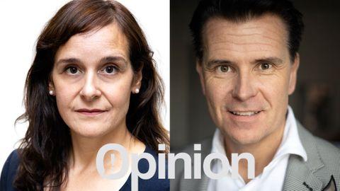 Nathalie Besèr, kommunikationschef Consid Peter Hellgren, vd Consid