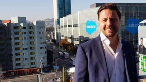 Salesforces Sverigechef Dan Bjurman