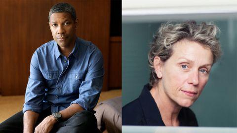 Denzel Washington och Frances McDormand