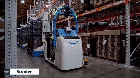 Amazon Scooter robot