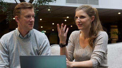 Patrik Alm och Anna Kalm driver sedan fyra år tillbaka bolaget Ascentic i Colombo, varifrån man förser svenska bolag med utvecklare.