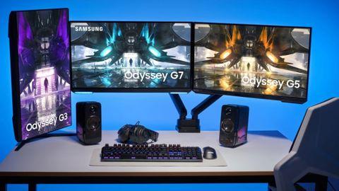 Samsung Odyssey gamingskärm