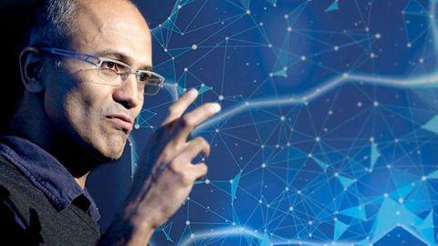Microsofts vd Satya Nadella.