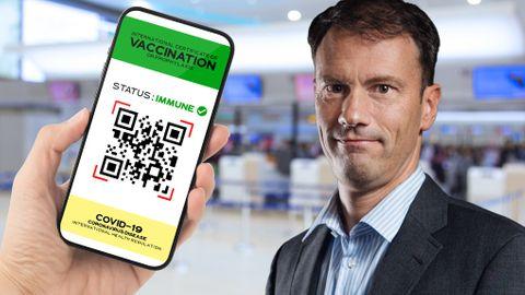 Martin Appel digitala vaccinpass